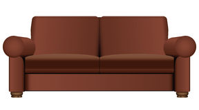 Sofa for two seats Royalty Free Stock Image