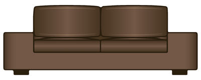 Sofa for two seats Stock Photography