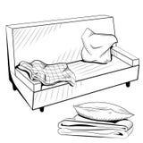Sofa vector Royalty Free Stock Photo