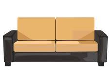 Sofa in vector format Stock Image