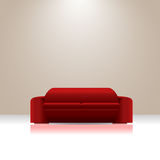 Sofa vector Royalty Free Stock Images