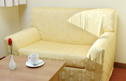 Sofa vide Photo stock