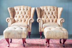 Sofa in vintage room Stock Photo