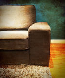 Sofa in a vintage style room Stock Photos