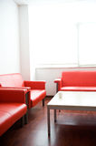 Sofa in waiting room Royalty Free Stock Image