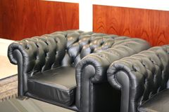 Sofa waiting room Stock Images