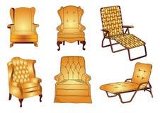 sofa wektora Obraz Stock