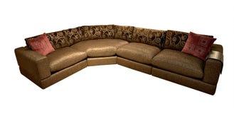 Sofa on white Stock Photography