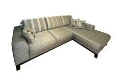 Sofa on white Stock Photography