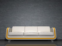 Sofa white Stock Photography