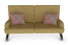 Sofa With Pillow Stock Photo