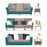 sofa współczesnej Zdjęcia Royalty Free