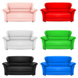 Sofas Royalty Free Stock Photos