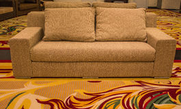 Sofas and carpets. Royalty Free Stock Photo