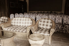 Sofas and chairs Royalty Free Stock Photography