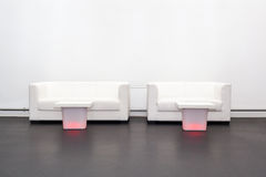 Sofas and coffee tables Royalty Free Stock Photos
