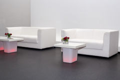 Sofas and coffee tables Stock Photography