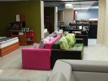 Sofas colorés photo stock