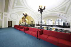 Sofas in Commerce and Industrial chamber of Russia Stock Photo