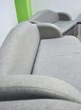 Sofas pour des salles de relaxation Photographie stock libre de droits