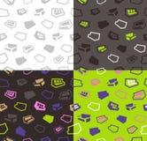 Sofas seamless pattern background Stock Photo