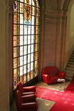 Sofas stained glass Stock Photography