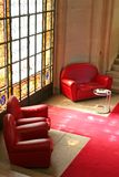 Sofas stained glass Royalty Free Stock Images