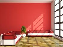Sofas und Anlage Stockbilder