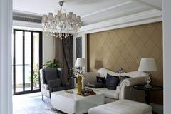 Soffa-, stol- och fritidsoffakombination av fallet royaltyfri bild