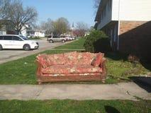 soffa royaltyfri foto