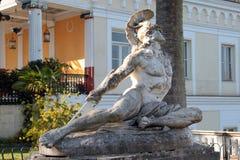 Sofferente di Statua Achille Immagine Stock