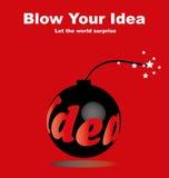 Soffi la vostra idea Immagine Stock Libera da Diritti
