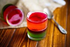 Soffio colorato frutta della gelatina Fotografia Stock Libera da Diritti