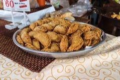 Soffio croccante del curry Fotografie Stock Libere da Diritti