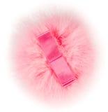 Soffio di polvere rosa. Fotografie Stock Libere da Diritti