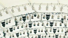 Soffites et tout autre équipement sous le plafond Image stock