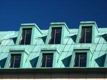 soffitta della città moderna immagini stock libere da diritti