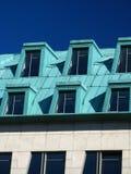soffitta della città moderna fotografia stock libera da diritti