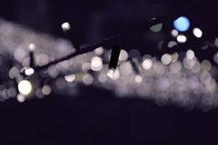 Soffittenlampe der Beleuchtungskette Stockfoto
