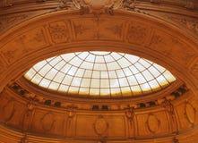 Soffitto arcato con il lucernario Fotografia Stock Libera da Diritti
