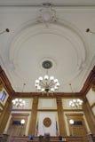 Soffitto barrocco in tribunale pionieristico Fotografia Stock Libera da Diritti