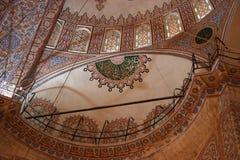 Soffitto con i reticoli islamici Immagine Stock