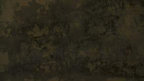 Soffitto concreto di vecchio lerciume nella costruzione abbandonata e distrutta archivi video