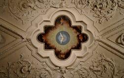 Soffitto decorato Fotografia Stock