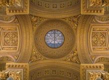 Soffitto decorato nel palazzo di Versailles Immagine Stock