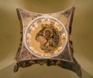 Soffitto degli apostoli santi della chiesa di Solaki in agora greco fotografia stock libera da diritti