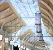Soffitto del centro commerciale immagini stock libere da diritti