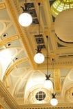 Soffitto dell'alloggiamento Fotografia Stock