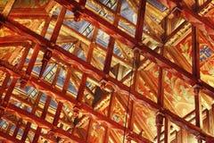 Soffitto dell'alloggiamento del Consiglio, Stoccolma Fotografia Stock Libera da Diritti