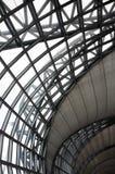 Soffitto dell'interno del metallo Fotografia Stock Libera da Diritti